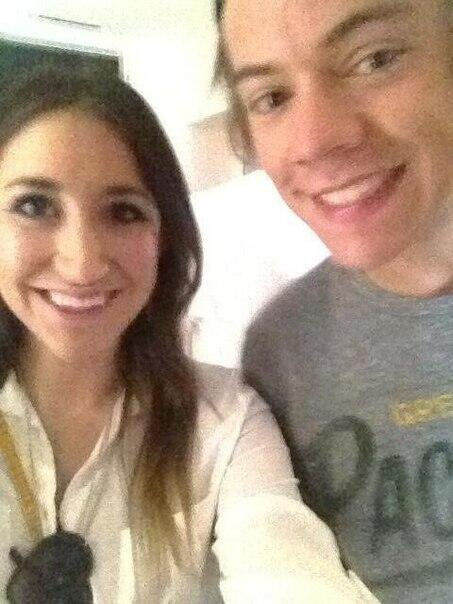 Harry et une fan hier!