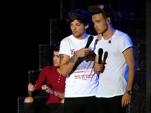 Liam, Louis et Zayn hier à Chula Vista!