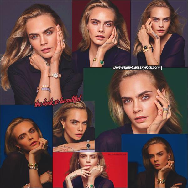 DIOR - Cara prend la pose pour la promo de la collection 2021 des montres et bijoux DIOR !