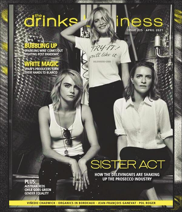 -  The Drinks Business ●- Les sis' Delevingne posent pour la couverture Avril 2021 du célèbre  magazine ! -