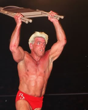 """ The Nature Boy "" Ric Flair"