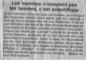 c'est les scientifiques qui le disent et le démontrent !!!! mdr