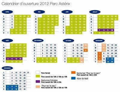 Calendrier 2012 !