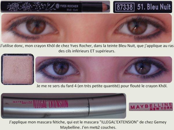 Tutoriel Make-Up ☀ : Makeup Neutre/Bleu !