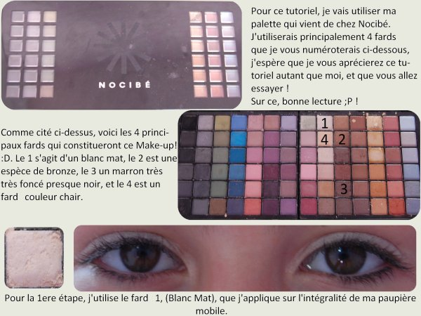 Tutoriel Make-Up ☀ : Makeup Neutre/Bleu !