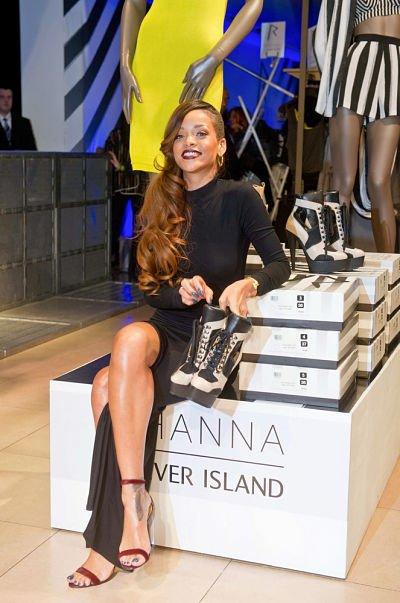 "Rihanna & Sa Collection chez "" River Island """
