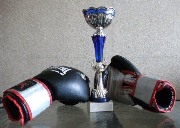Gala de Boxe à Bayonne ....  yeah ! ...Mon champion !
