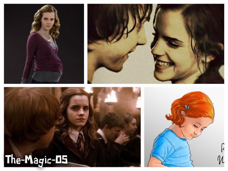 OS Ron & Hermione - L'annonce de sa grossesse