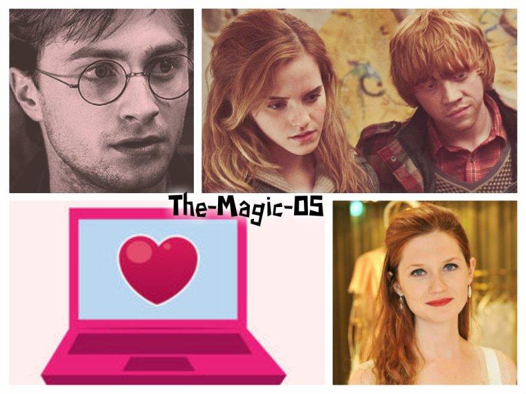 OS : Harry et Ginny - Retrouvailles par internet