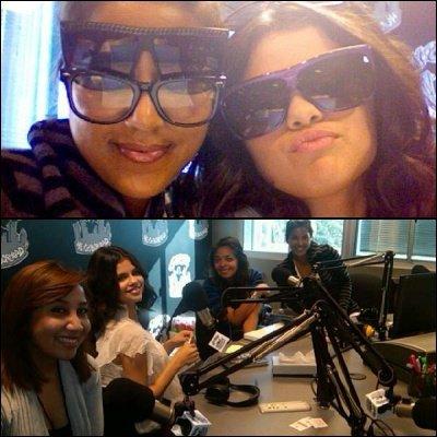 Selena a fait un saut hier , dans une Station Radio pour une interview. Découvrez les première photos dans la galerie.