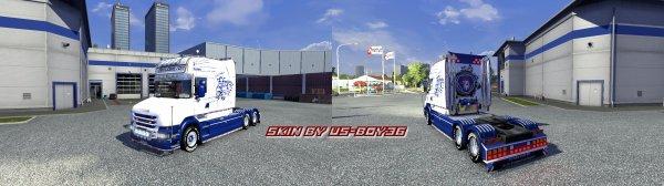 Scania T longline TPS Lebreton
