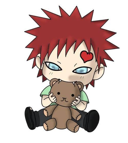 Je suis à fond sur Gaara-chan !! ♥.♥