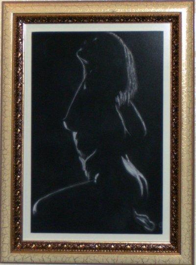 Femme en clair obscur - 105