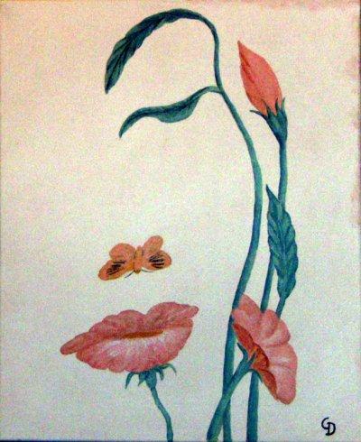 Fleur et papilon - 99