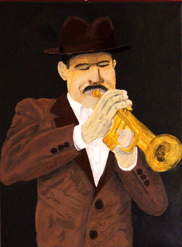 252 - Trompettiste