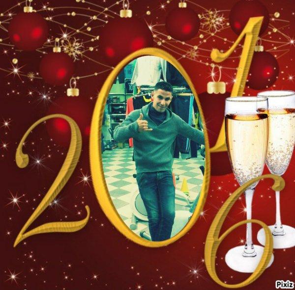 Bonne année mes amis ♥♥♥