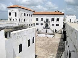 Ghanaian beautiful castle ( Elmina castle)
