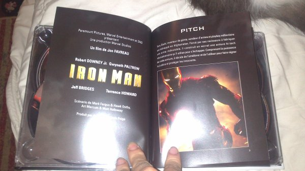 Bluray Iron Man ^^