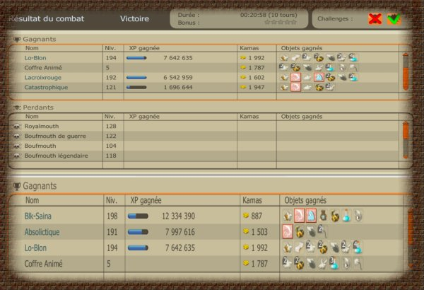 capture a gogo,up du cra,nini,sacri =D,guilde