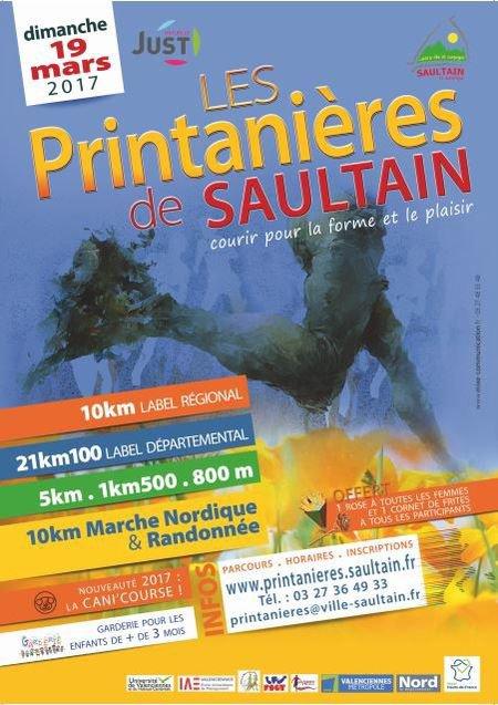 les Printanières de Saultain sur le 5km300