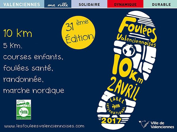 10km de Valenciennes
