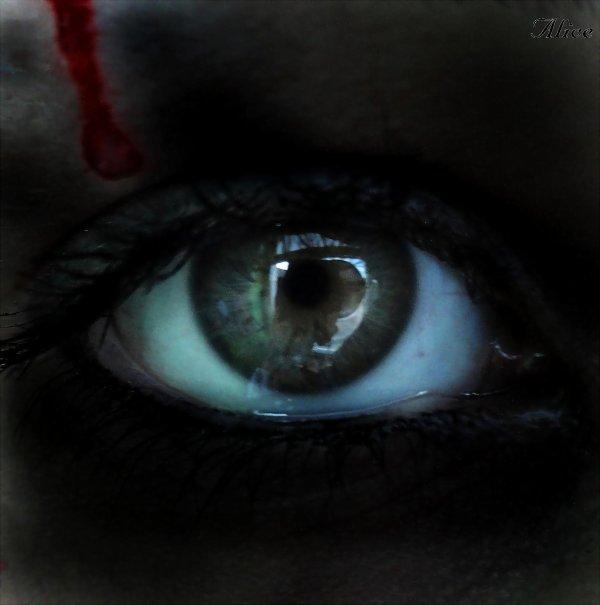 La larme du sang.