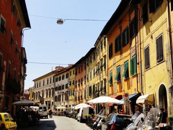 Pisa's street