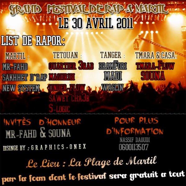 festiVàl de rap a martil  30/04/2011
