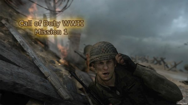 Call of Duty WWII - Mission 1
