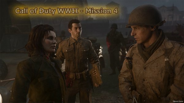 Call of Duty WWII - Mission 4