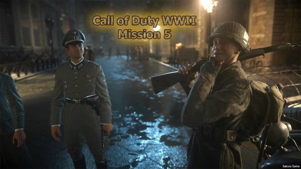 Call of Duty WWII - Mission 5