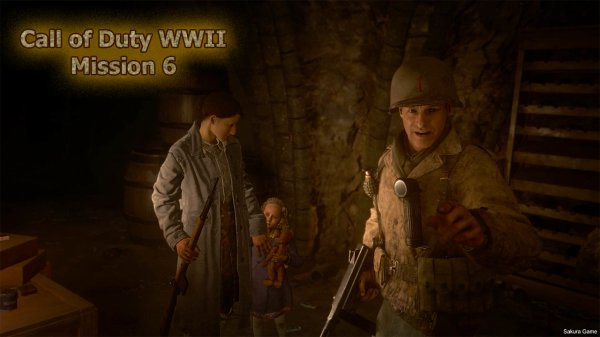 Call of Duty WWII - Mission 6