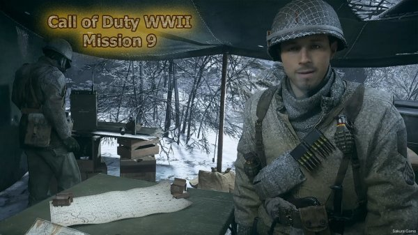Call of Duty WWII - Mission 9