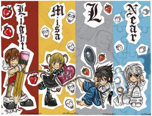 (。◕‿◕。) 3'ème manga : Death Note  (。◕‿◕。)