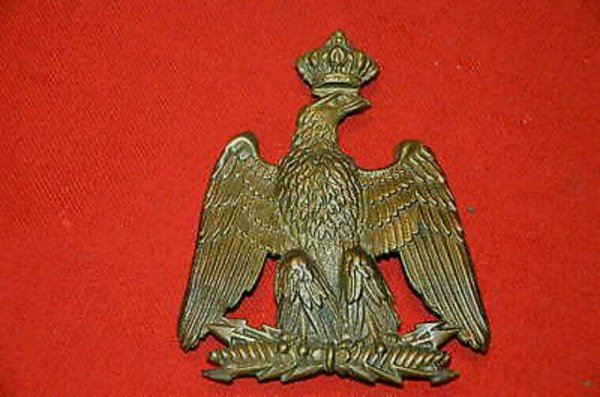 Aigle de giberne des Zouaves de la Garde Impériale second Empire