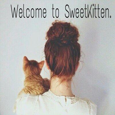 Bienvenue sur mon blog !  - by SweetKitten