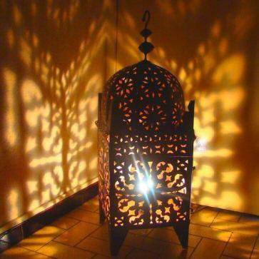 26 lampe bougeoir photophore marocain fer forge bougie th - Bougeoir mural fer forge ...