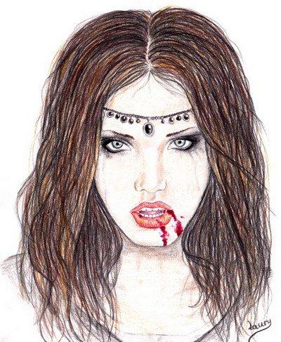 Vampire blog de dessins - Dessins de vampires ...