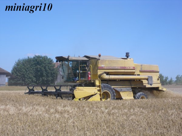 Moisson 2011 avec une New Holland TX 36 !!!!