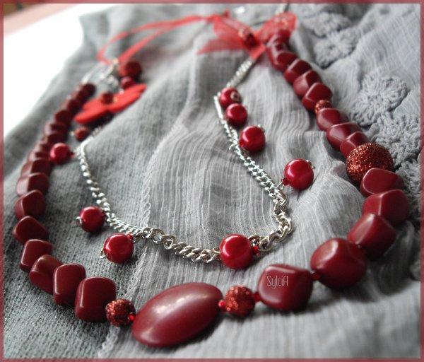 Sautoir Rojo