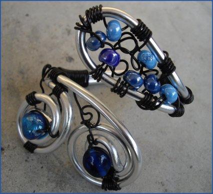 Bracelet l'Heure Bleue.