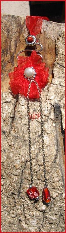 Pendentif Papavero Rosso