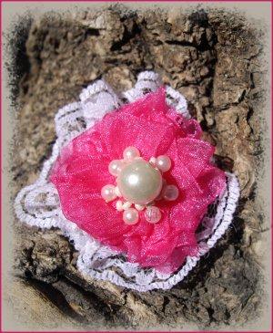 Parure Douceur de Rose / Swap de printemps