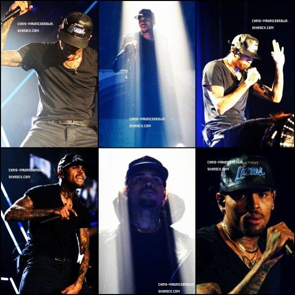 Le 30 Novembre , Chris Brown donne un concert en Suisse pour son Carpe Diem Tour.