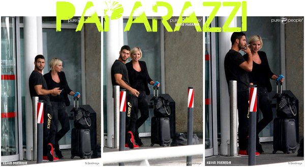 Kevin et Nadege Lacroix ont été shooté par des paparazzi à l'aéroport en partout pour Los Angeles ♥