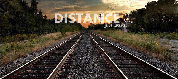 Fucking distance.