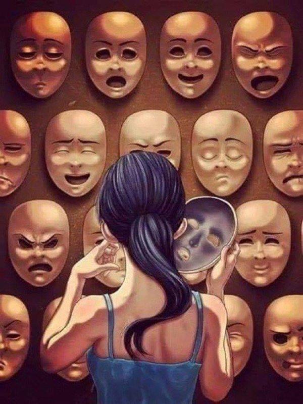 Le masque est si charmant que j'ai peur du visage. ~