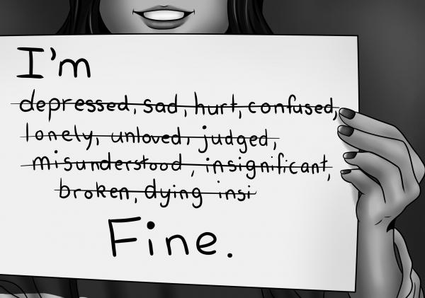 ~ La dépression est de vivre dans un corps qui se bat pour survivre avec un esprit qui cherche a mourir. ~