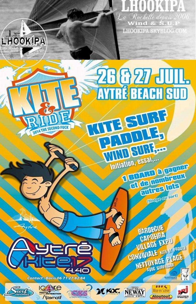 Kite & Ride Festival : l'Asso LHOOKIPA répond présente !!!