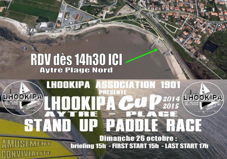 LHOOKIPA Cup N°3 : dimanche 26 octobre, VALIDATION POUR LE SUP !